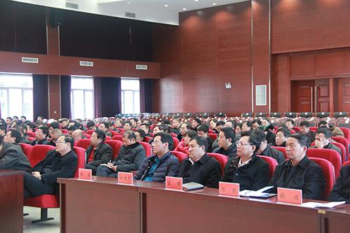 朝阳市双塔区人民政府-刘学军在全区领导干部大会上